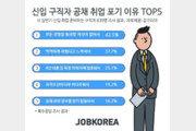 """상반기 신입 구직자 5명 중 1명 """"공채 취업 포기"""""""
