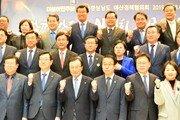 민주당, 창원서 올 첫 예산정책협의회…총출동해 '김경수 구원투수'로