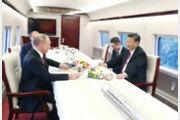 김정은, 시진핑 전용 고속열차 이용할까…이동시간 대폭 감축