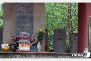 베트남 북한군 전사자 14명 묘비…안내판 없고 '썰렁'