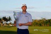 마틴 트레이너, PGA 투어 첫 승 감격