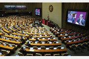 김빠진 대정부질문 첫날…자리 지키는 의원 60여명뿐
