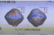 日 무인 탐사선 하야부사2, 소행성 류구에 물 존재 확인