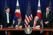 """美 경제연구소 """"한미 FTA는 미국의 무역적자와 무관"""""""