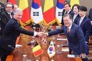 文, 국빈방한 벨기에 국왕과 정상회담…한반도 평화 지지 당부