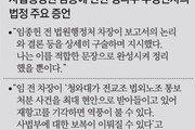 """증인석 앉은 현직판사 """"임종헌, 박근혜 좋아할 문건제목 정해"""""""
