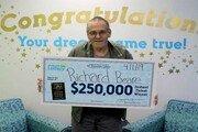 간암투병 美남성, 25만달러 복권 당첨…'마지막 소원'에 쓴다