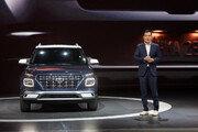 현대차 소형 SUV '베뉴'…뉴욕서 세계 최초 공개