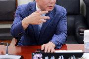 與의원과 공무원에게 물컵 던진 한국당 아산시의원…윤리위 '경고'