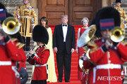 '英 인기 최악' 트럼프, 6월 영국 방문시 의회연설 성사될까