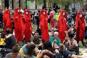 '기후변화 대책 촉구' 英서 2주째 시위