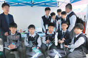 마포진로박람회… 중학생들 드론 촬영 체험