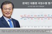 文대통령 국정 지지율 48.9%…소폭 상승