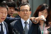 김학의, 구속 후 첫 검찰 출석…사실상 조사 거부