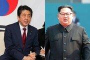 """아베 """"김정은 北위원장과 무조건적 정상회담 추진"""" 재차 밝혀"""
