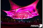 중랑천에 핀 '35m 하늘장미' 6월2일까지 '서울장미축제'