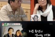별세 김건모 아버지, 생전 아내 사랑 가득 '사랑꾼' 면모