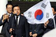 """'김정은 대변인 짓' 발언 논란 황교안 """"내가?"""" 뒤늦게 부인"""