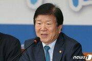 """방일 박병석, 日의원들에 """"韓대법원 판결 존중해야"""""""