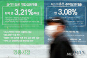 가계빚, 1540조 '사상 최대'…증가율은 14년만에 최저