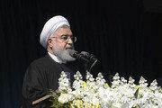 """로하니 대통령 """"이란, 미국에 폭격 당해도 굴복하지 않겠다"""""""