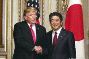美日정상회담서 나란히 北 언급한 트럼프·아베…김정은 응답할까?