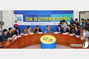 민주, 강효상 논란 등 외교부 보고 청취…'심각성 인식'