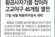 [알립니다]황금사자기를 잡아라 고교야구 46개팀 열전