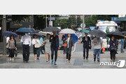 [날씨]19일 중부지방 오전까지 비…오후부터 곳곳 소나기