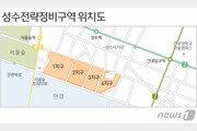 갈 길 바쁜 성수동 50층 재개발…1지구 건축심의 반려