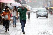 [날씨] 전국 곳곳 소나기…미세먼지는 '보통'