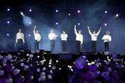 'BTS'와 '아미'가 보랏빛으로 물들인 서울