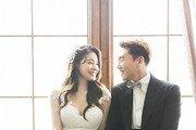 서유리♥최병길 PD, 웨딩화보 첫 공개…달달한 예비부부