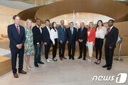 김연아, IOC 새 본부 올림픽하우스 개관식 참석