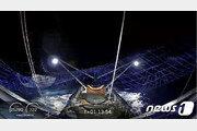 발사 팔콘 로켓 페어링 보트위 그물망으로 회수 성공