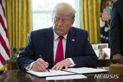 """트럼프 """"이란과 전쟁한다면 오래 지속되지 않을 것"""""""