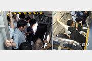 '콩나물 입석' 2층버스 고속道 쌩쌩… 손잡이 없이 커브길 휘청