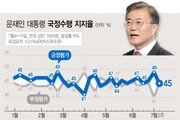 文대통령 지지율, 日 경제 보복에 급락…아베 의도대로?