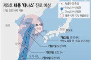 """태풍 '다나스' 필리핀서 북상…""""19~22일 많은 비"""""""