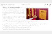 한 잔에 24만원…금보다 비싼 홍차 파는 英루벤스 호텔