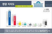 민주 41.9%, 한국 27.8%…대일 강경 기조에 與 지지층 결집