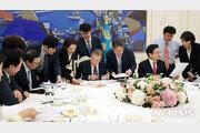 민주 40%, 한국 20% '동반 상승'…對日 초당적 협력 영향