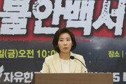 """한국당, '文 정부 불안백서' 발간…""""안심할 수 없는 나라 돼서야"""""""