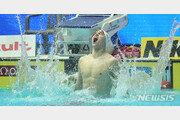 [광주세계수영]쑨양, 사상 첫 자유형 400m 4연패 달성