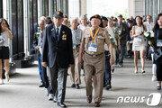 아버지가 피흘린 한국 보고 싶었다…유엔 참전용사·유족 107명 방한