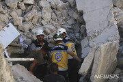 시리아 정부군·러시아, 반군 거점 공습…최소 50명 사망