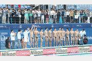 광주세계수영, 넘어지고 깨어지며 '1승'…남자 수구의 꿈