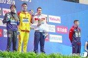 자유형 200m '동메달' 던컨 스캇, '금메달' 쑨양과 악수·사진 촬영 거부