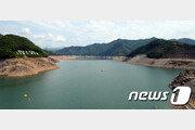 '마른 장마'에 소양강댐 수문 닫았다…방류량 207만톤 줄여