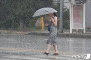 [날씨]중부 시간당 50㎜ 집중호우…천둥번개 동반
